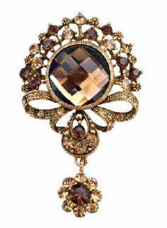 Gold Casting brooch