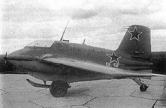 German Comet rocket plane captured by the Russians