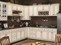 The Sanibel kitchen collection from Sunny Wood.  Find out more at www.sunnywood.biz.