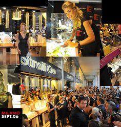 Vogue Fashion Night Out Milan 06.09.2012 @ Stroili oro flagshipstore C.so Vittorio Emanuele. Starring Ilary Blasi