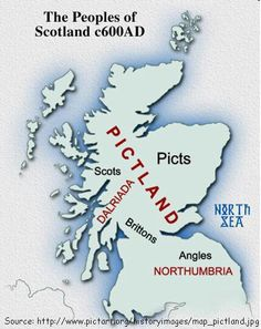 The Picti or 'painted ones' was probably a Roman nickname for the emerging Caledonian tribe of northern Scotland, although their lands would eventually include much of Scotland.