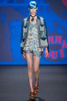 Anna Sui Spring 2013 Ready-to-Wear Fashion Show - Vanessa Axente