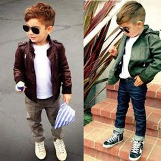 Hairstyles For Boys I Love Alonso Mateo. Little Boy Outfits, Little Boy Fashion, Baby Boy Fashion, Toddler Fashion, Fashion Kids, Baby Boy Outfits, Guy Fashion, Fashion 2015, Street Fashion