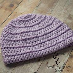 Front Loop Newborn Hat - Media - Crochet Me
