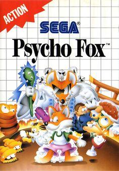 Psycho Fox Sega Master System cover artwork