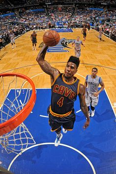 Iman Shumpert's elongated High-Top Fade
