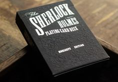 Intricately designed playing cards inspired by the arch-enemy of Sherlock Holmes... Moriarty..