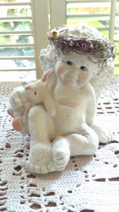 Vintage Dreamsicles Cherub Angel Cast Art By by PattiesPassion