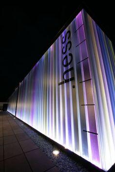 Hess LEDIA FP LED façade by Steve Rosier, via Behance