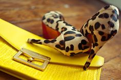 I have a love for leopard & yellow!