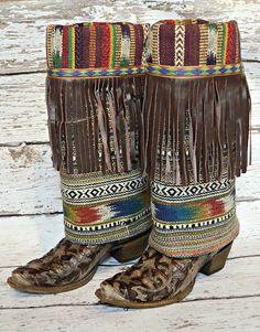 $179.95 Cream Tapestry Boot Rugs