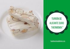 Turrón de Alicante con Thermomix (Turrón duro) Thanksgiving Traditions, Xmas Food, Camembert Cheese, Icing, Dairy, Ice Cream, Sweets, Traditional, Desserts