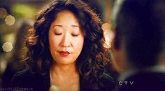 This is her stuffing her face while being flawless.   27 Reasons Why Cristina Yang Is Everything You Aspire To In Life