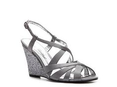 4d6045f186b Lulu Townsend Porena Wedge sandal in Silver at DSW  54.95 for the  Bridesmaids (comes with