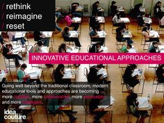 From Khan Academy to 826 Valencia, check out these 10 Innovative Educational Approaches