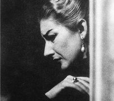 Callas, 1954; photographed by Erio Piccagliani.