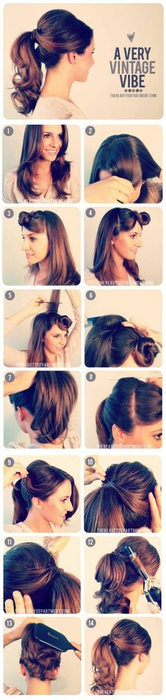 17 Retro DIY Hairstyles You Must Try | HipHomeMaking Follow Us on Facebook ==> https://www.facebook.com/HipHomeMakingOfficial