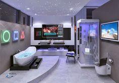 high tech gadget images: Caption Modern Bathroom High End Gadget Quality