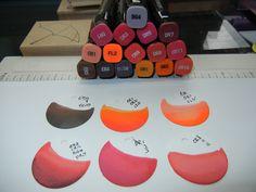 Blending Markers, Color Blending, Alcohol Markers, Copic Markers, Alcohol Inks, Copic Marker Color Chart, Digi Stamps Free, Noir Color, Spectrum Noir Markers