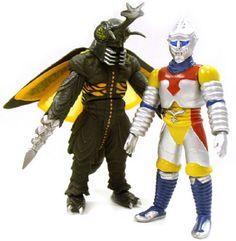 megalon costume | Kiguru-Microman Series KM-SP02 Megalon (with Microman Kim) VS Jet ...