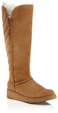 UGG® Rosalind Quilted Tall Boots