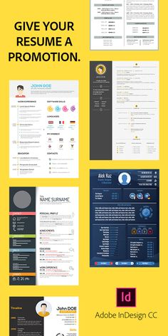 Create a resume that stands out from the crowd. Its easy with Adobe InDesign Einstein, Promotion, Create A Resume, Resume Tips, Resume Examples, Resume Skills, Career Advice, Adobe Indesign, Job Search