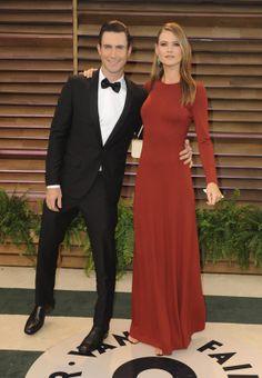 Great modest dress! 2014 Oscars vanity fair Party