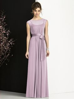 After Six Bridesmaids Style 6676 http://www.dessy.com/dresses/bridesmaid/6676/?color=amethyst=1#.UiKiWtK-rNo