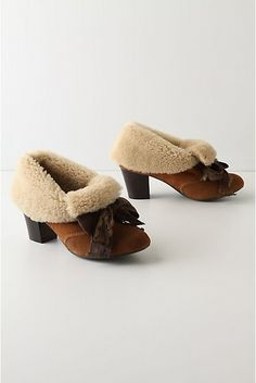 Great North Woods Booties by Miss L. Fire. Alas, these beauties are no longer in production.