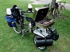 What a set up!! Bike camping at its best.... #Outdoors #Travel #Cycling