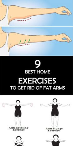 9 Best Home Exercises To Get Rid OF Fat Arms