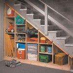 Under basement steps