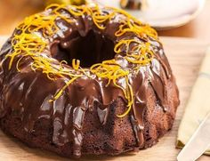 This Chocolate Orange Cake is so easy – whisk all ingredients and bake. Cover with chocolate glaze and decorate with Terry's Chocolate orange segments. Chocolate Bunt Cake, Chocolate Orange, Best Chocolate, Chocolate Cookies, Chocolate Recipes, Orange Bunt Cake, Greek Sweets, Bunt Cakes, Sweet Pastries