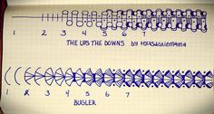 https://flic.kr/p/qV1MSr | Bugler and The Ups The  Downs tangles