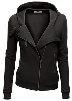 The Vogue Fashion: Women's High Neck Fleece Zip Up Jacket