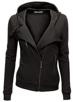 The Vogue Fashion: Women's High Neck Fleece Zip Up Jacket