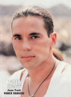 Forgot how hot he was! Yep, even as a kid I knew he was nice to stare at. Mighty Morphan Power Rangers!