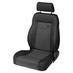 Bestop® TrailMax™ II Pro Seats in Fabric for 76-06 Jeep® CJ / Wrangler YJ/ TJ
