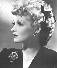 """Lucille Ball ~ If you don't love this woman, you're crazy. As you may be able to tell by now, I REALLY love Lucy!!  She was gorgeous, hilarious, kind... and """"I Love Lucy"""" without question is my favorite show. So many things about her that I love, but besides her beauty, her hilariousness, her marriage to Desi, her love of her children and animals, it was herhumongous blue eyes and flaming red hair."""