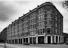 Nos 143–157 Farringdon Road in 1988. Alfred Waterman, architect, 1894–7 © English Heritage EH photograph (B880104/4)