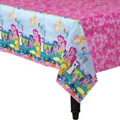 My Little Pony Table Cover 54in x 96in