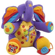 Tiny the Elephant Activity Toy A soft activity toy designed to stimulate your child to explore touch and sound through various textures and activities. Warning:This toy contains magnets or magnetic components. Please dont leav http://www.comparestoreprices.co.uk/baby-toys/tiny-the-elephant-activity-toy.asp