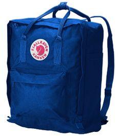 Fjällräven Kanken backpack in Royal Blue