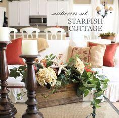 Fall Colors at Starfish Cottage Coastal Fall Ideas www.starfishcottageblog.com