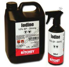 Ritchey Iodine BP 10% Solution 500ml Spray - £8.15 ex. VAT