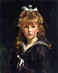 Jacques Barenton, 1883  // by John Singer Sargent