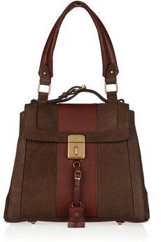 afae6f4ef245 Chloé - Darla brushed-leather shoulder bag