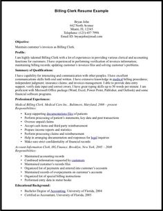 find this pin and more on resume job - Sample Job Resumes