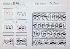 Indexed - Ououo tangle pattern  by Mei Hua Teng (Damy) (CZT)