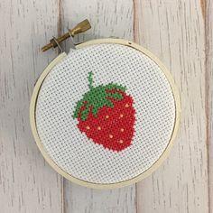 Counted Cross Stitch Patterns, Cross Stitch Designs, Cross Stitch Embroidery, Embroidery Flowers Pattern, Flower Patterns, Cross Stitch Alphabet Patterns, Snitches Get Stitches, Cross Stitch Beginner, Cross Stitch Fruit
